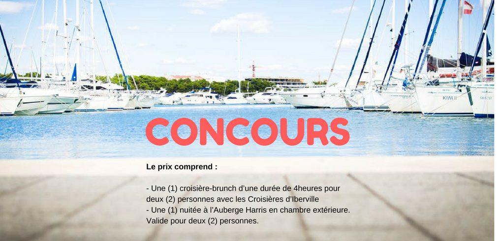 Concours Escapade Nautique et nuitée dans la station nautique Rivière Richelieu Sud - Lac Champlain
