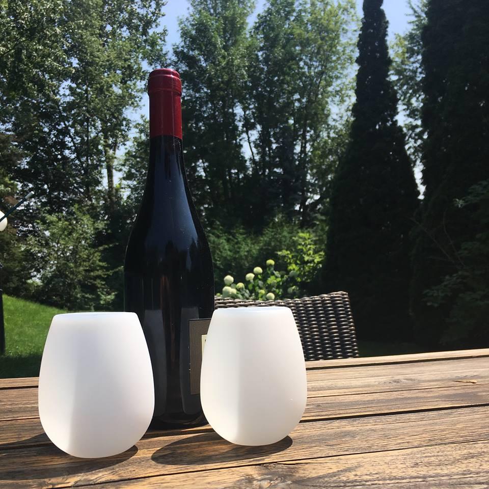 À gagner : Un ensemble de 2 verres en silicone d'une valeur de 25$!