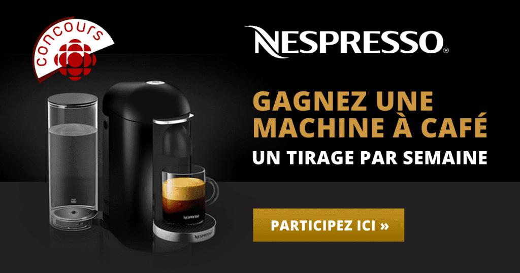GAGNER L'UNE DES 10 MACHINES À CAFÉ NESPRESSO VERTUO