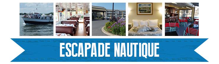 Tirage Escapade Nautique dans la station nautique Rivière Richelieu Sud - Lac Champlain