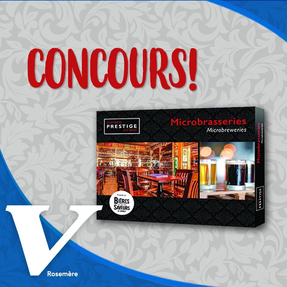 Concours | GAGNER LE COFFRET PRESTIGE MICROBRASSERIES