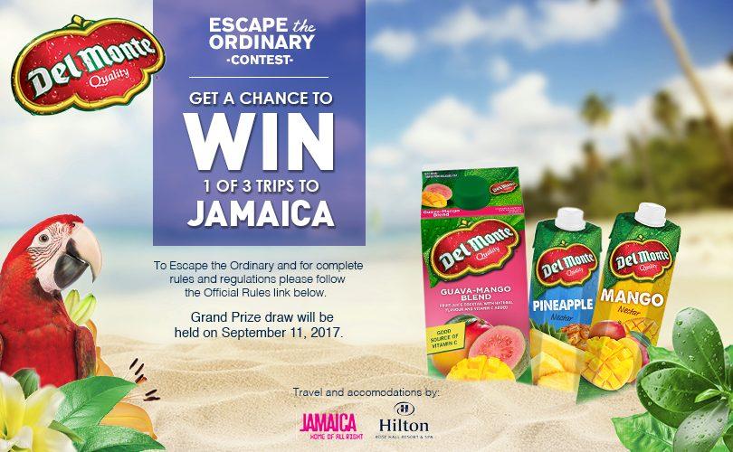 À gagner : Un voyage en Jamaïque