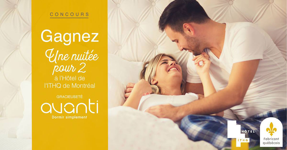 Concours – Gagnez Une nuité pour 2 à l'hotel ITHQ de Montréal