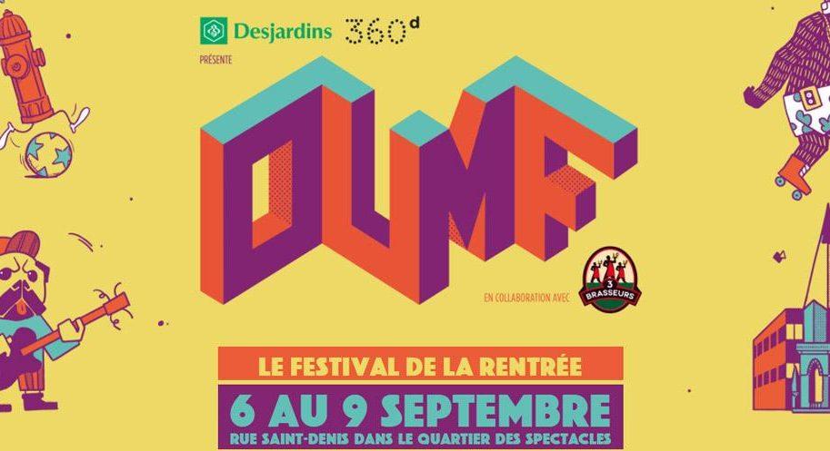 Concours - Gagner un kit au festival OUMF
