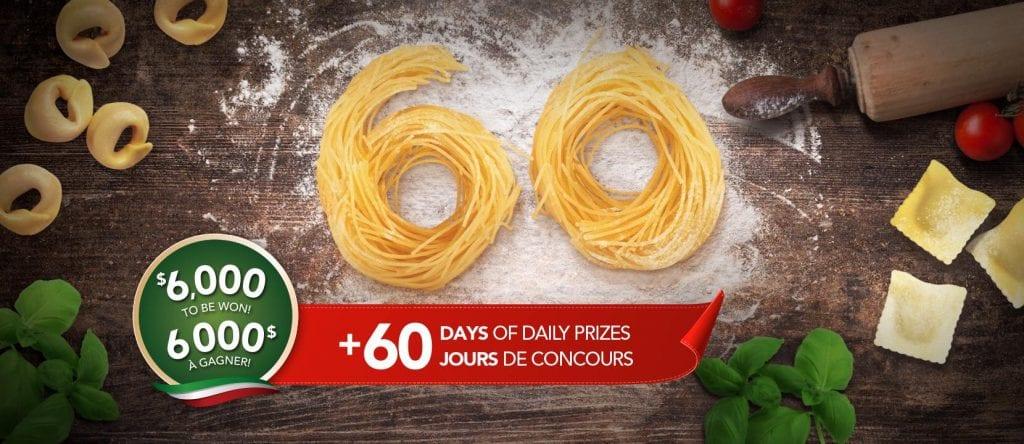 Courez la chance de gagner 6000 $ pour rafraîchir votre cuisine + 60 prix