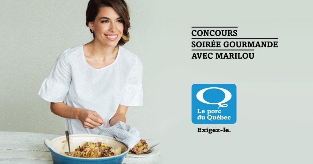 Concours   Gagner une soirée gourmande avec Marilou
