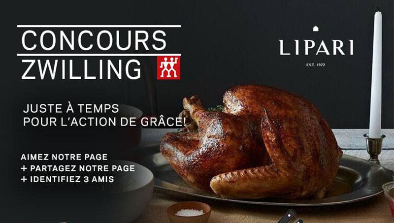 Gagner un ensemble d accessoires de cuisine zwilling d une for Gagner une cuisine 2017