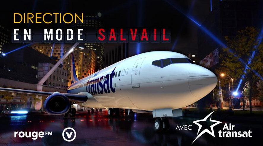 Gagner Direction En mode Salvail avec Air Transat !