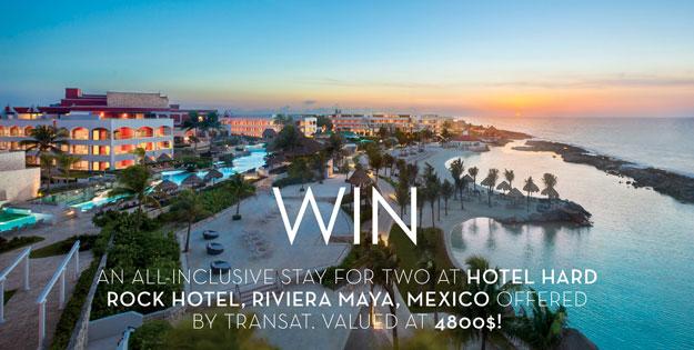 Concours - Gagner votre lune de miel de rêve au Mexique valeur de 4800$
