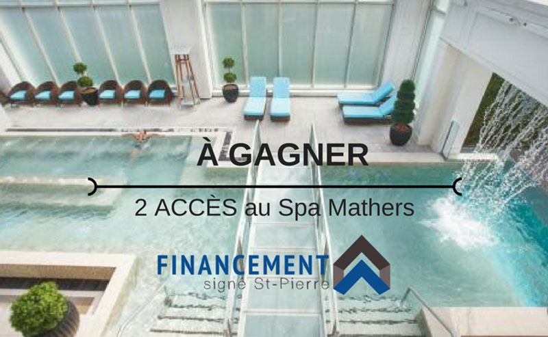 Concours - Gagner 2 accès au Spa Mathers
