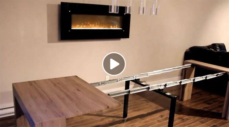 Concours - Gagner une Table Transformable ajustable de 2 à 12 personnes!
