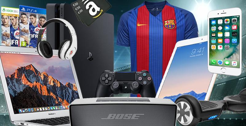 À gagner :Un Macbook, une PS4, un iPhone et plein d'autres cadeaux