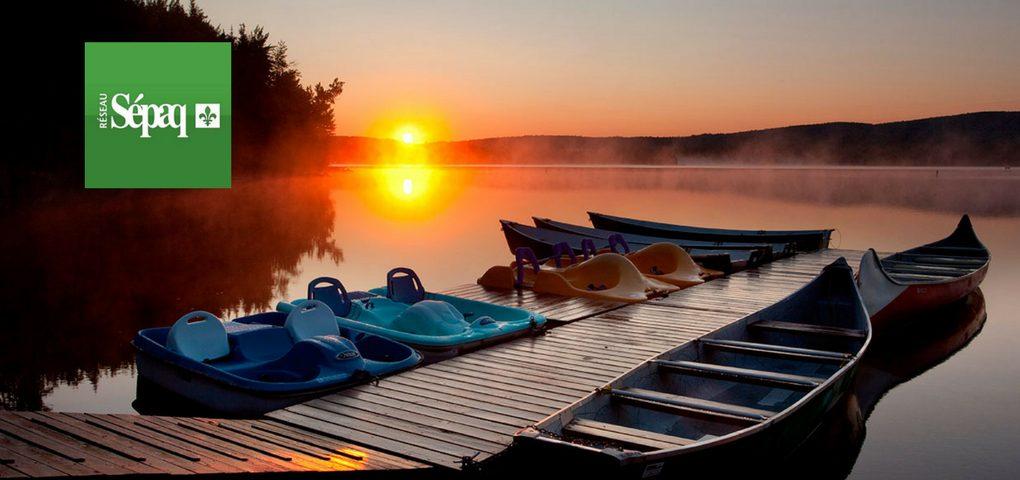 Concours pêche en famille à la SÉPAQ et vivez l'aventure en forêt.