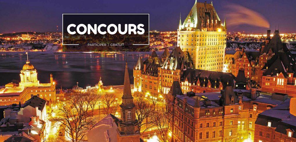 Concours gagnez un escapade dans le vieux Québec