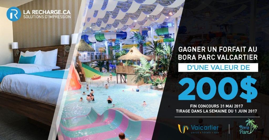 Concours: Amusez-vous au Bora Parc du Village Vacances Valcartier