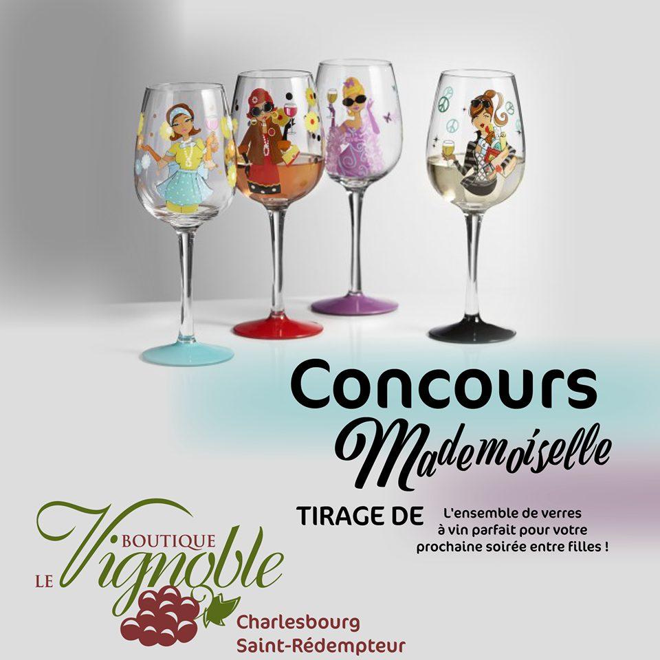 À gagner : un ensemble de verres à vin pour votre prochaine soirée de fille