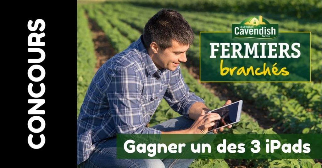 Concours Cavendish Farms - Gagnerun des 3 iPads
