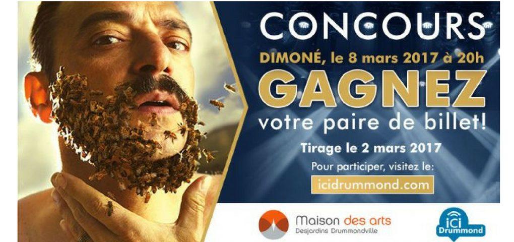 Concours Dimoné à la Maison des Arts Desjardins Drummondville