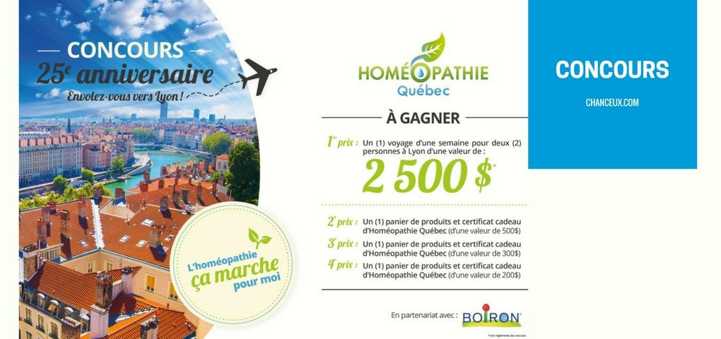 Concours | Voyage envolez-vous vers Lyon en France (Valeur de 2500$)
