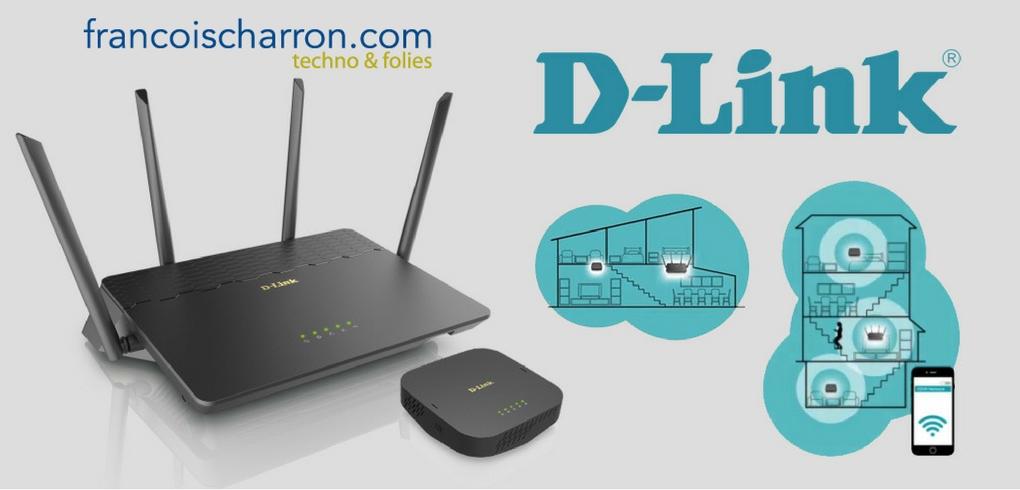 Concours Francois Charron - Gagnez un système Wi-Fi complet de D-Link