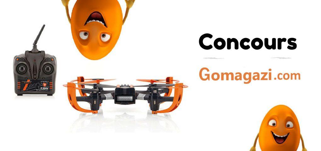 Concours Gagner un Drone Zoopa - Gomagazi.com vous offre ce magnifique prix
