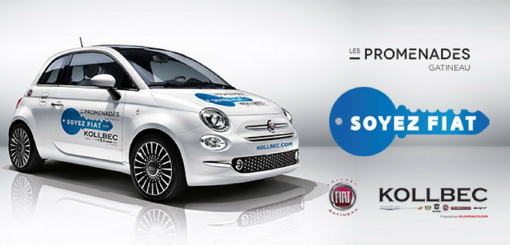 Concours Gagner une Fiat 500