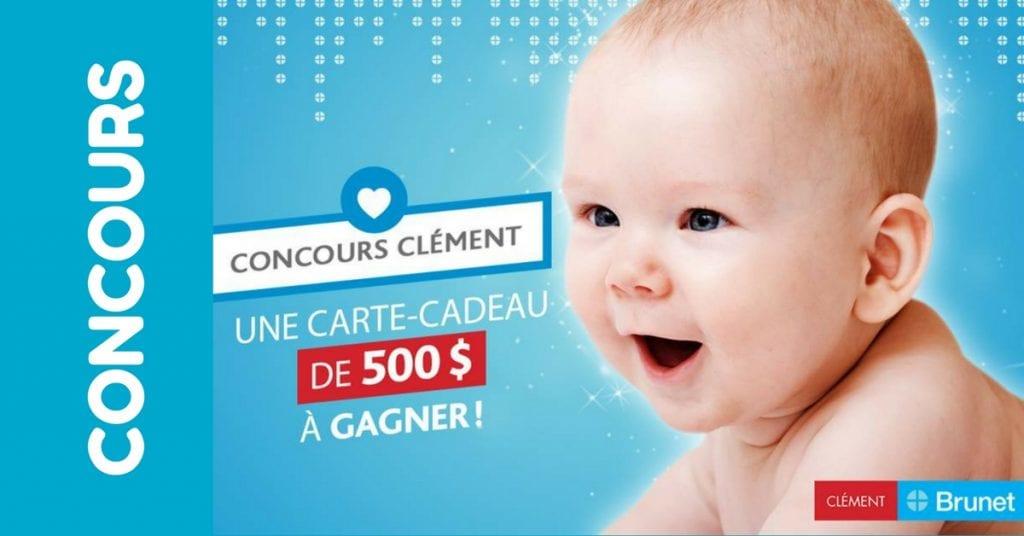 Concours - Gagner une carte-cadeau Clément de 500$
