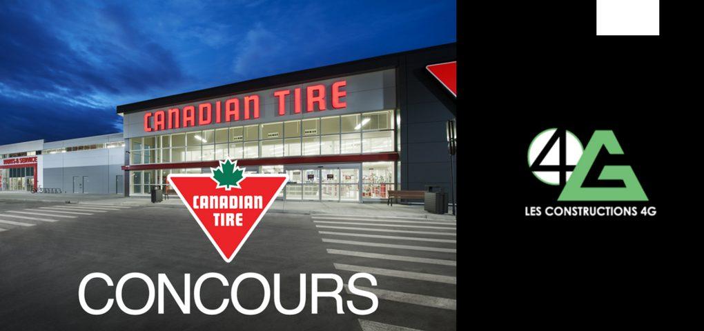 Concours Gagner une carte cadeau Canadien Tire