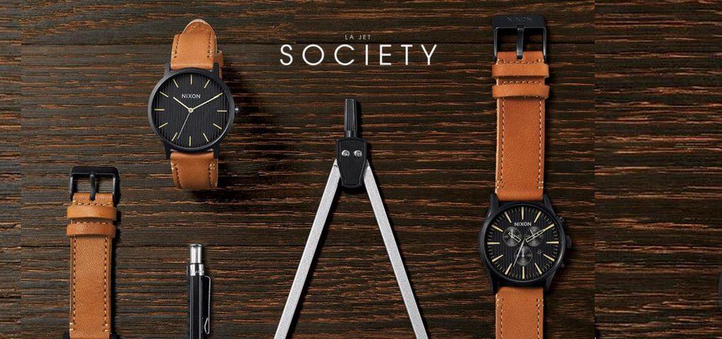 Concours Gagner une montre Nixon de votre choix en magasin offert par LA JET SOCIETY