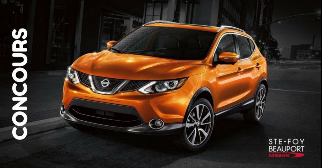 Concours La Capitale & Nissan - Courrez la chance de gagner la nouvelle Qashquai!