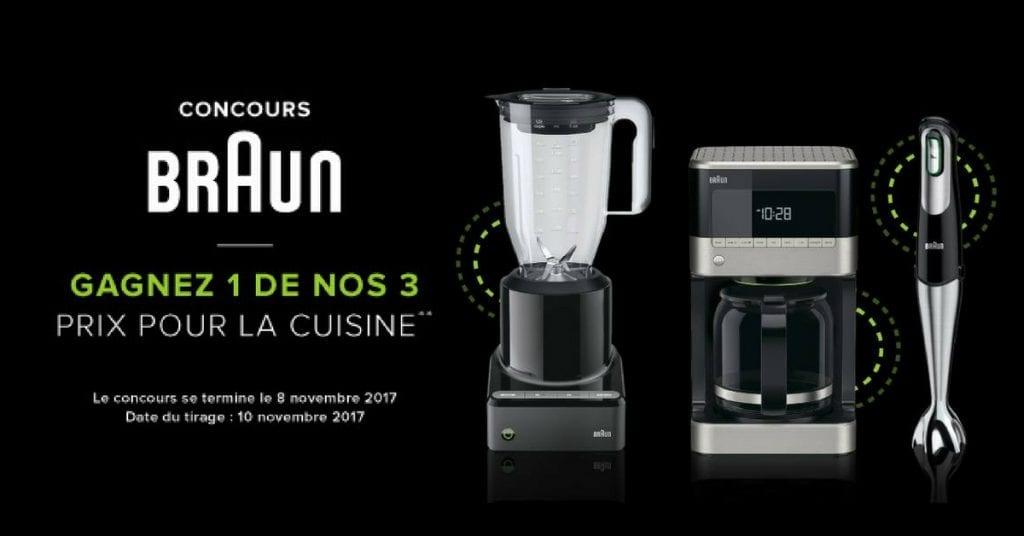 Concours Linen Chest - Gagnez un des 3 appareils électrique de marque Braun!