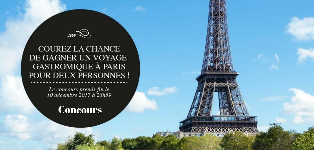 Concours Première Moisson - Gagner un voyage gastronomiques à Paris