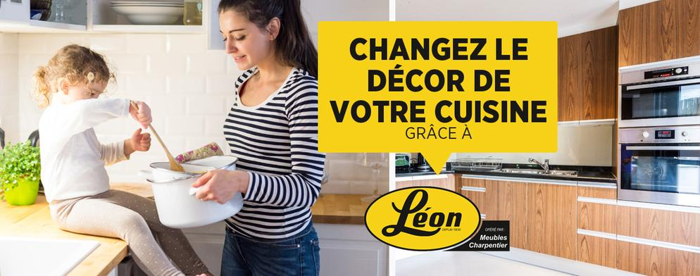Concours Rouge FM - Gagner 3 000 $ en électroménagers de marque LG chez Léon Charpentier Meubles
