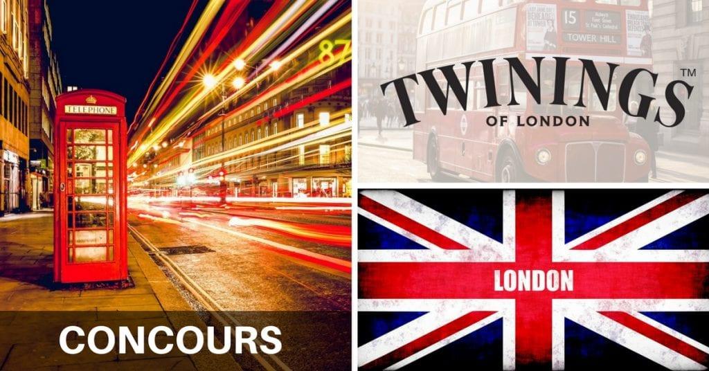 Concours Twinings & Météo Média - Gagner un voyage pour deux à LONDRES!