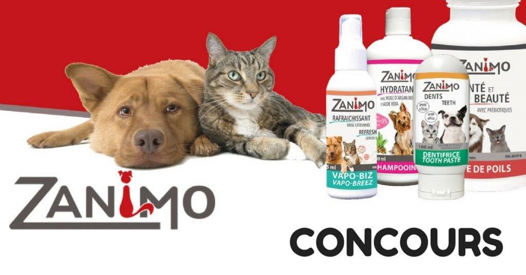 Concours Zinamo & Francois Charron - Gagner cet ensemble de soins pour chiens et chats