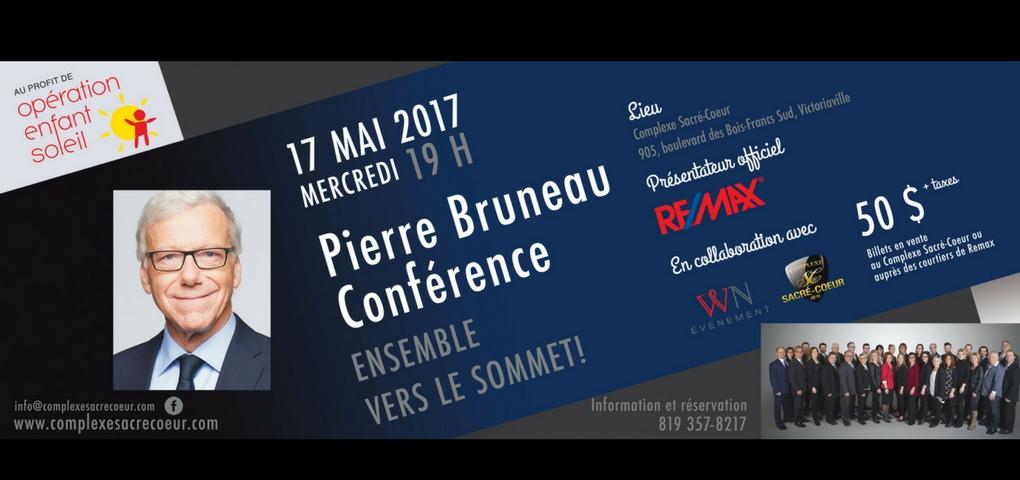Concours | Gagnez vos billets pour voir la conférence de Pierre Bruneau