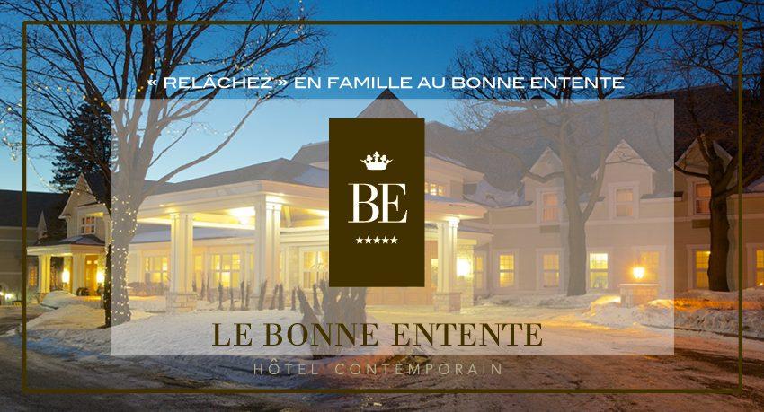 Concours gagner un séjour au Château Bonne Entente de Québec
