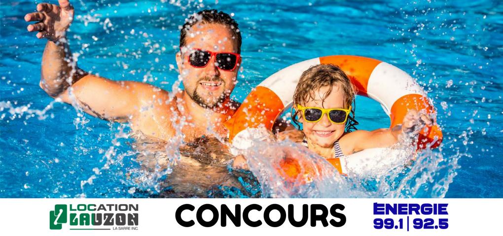 Concours: Gagner un piscine hors terre d'une valeur de 4200$