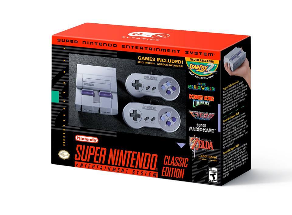 Concours Pro du Rétro- gagner un mini Super Nintendo