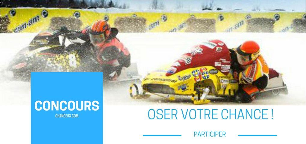 Gagner l'une des deux paires de passeports pour assister au Grand Prix ski-doo de Valcourt.