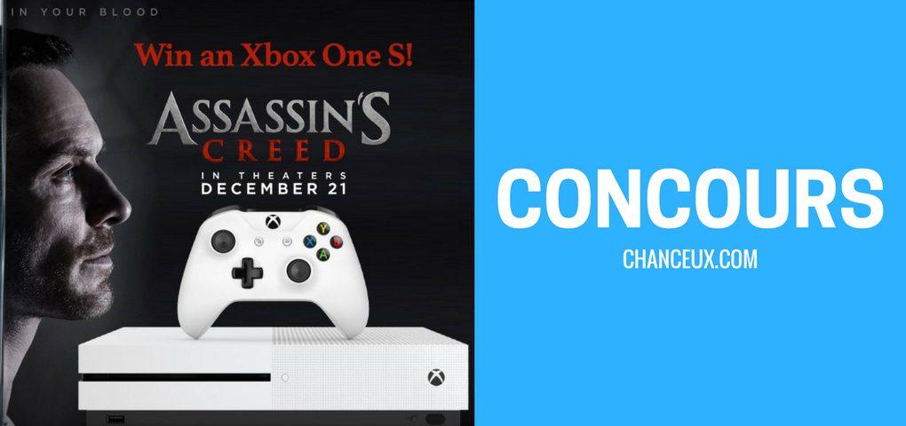 Gagnez Console de jeux Xbox One S