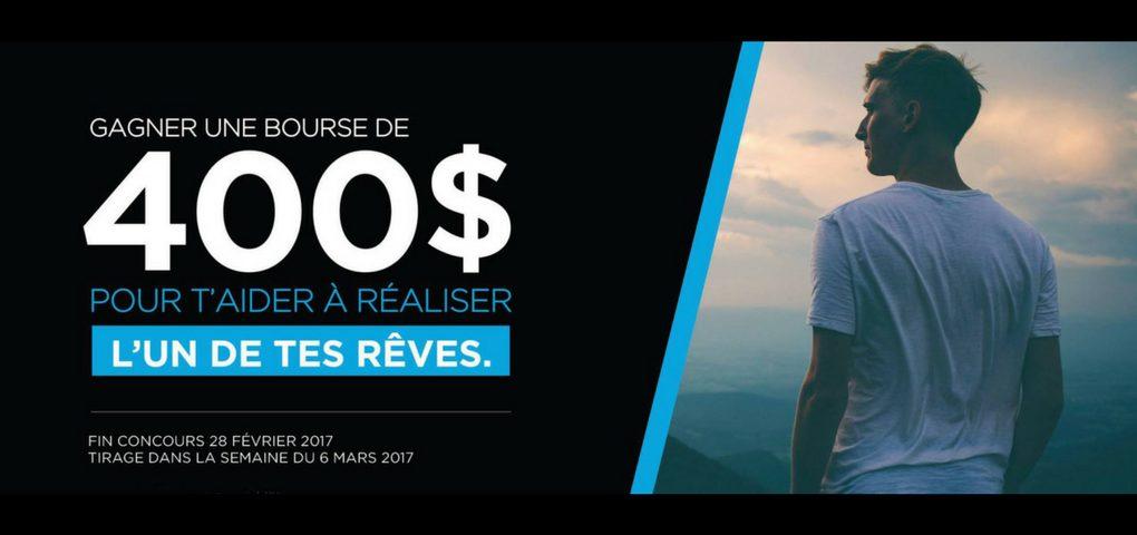 Concours réalise ton rêve grâce à La Recharge.ca