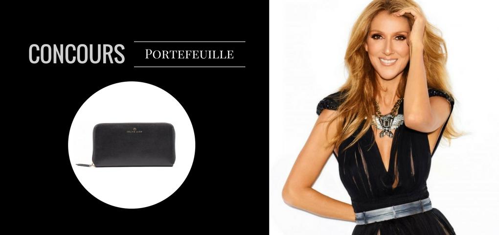 Gagner ce Portefeuille de la collection Céline Dion (Cavatina)