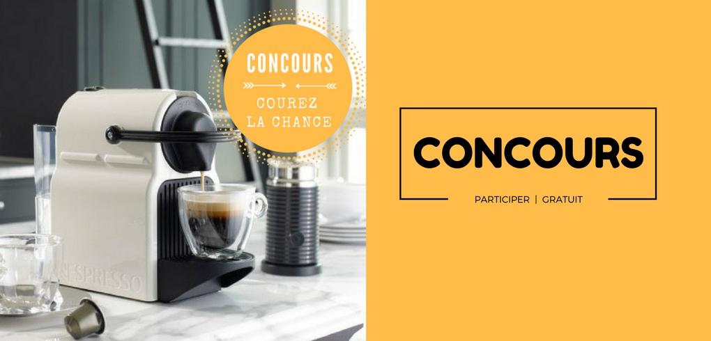 image concours Utask Canada qui offre une machine Nespresso