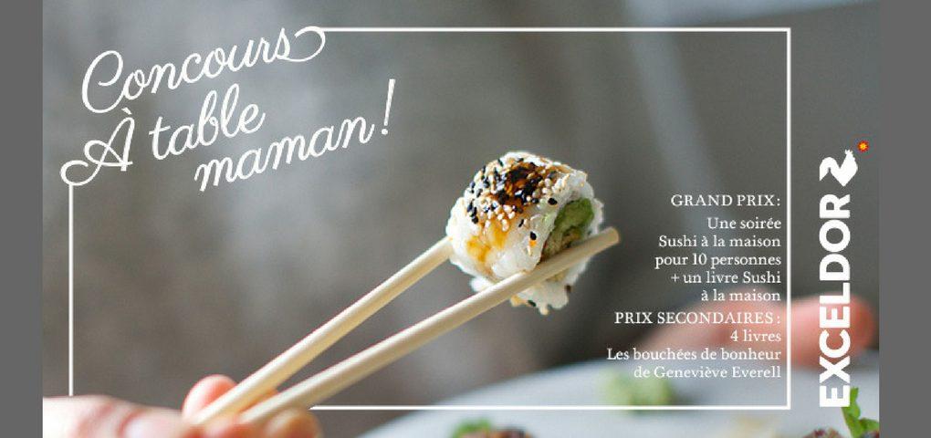 Gagner une soirée Sushi à la maison pour 10 personnes ainsi que le livre éponyme