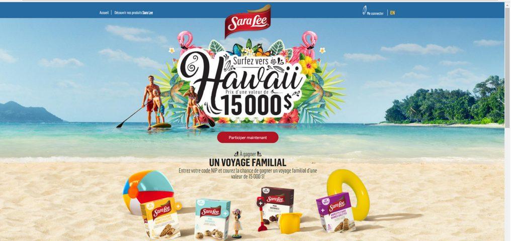 Gagnez votre voyage d'une valeur de 15 000$ pour Hawaii