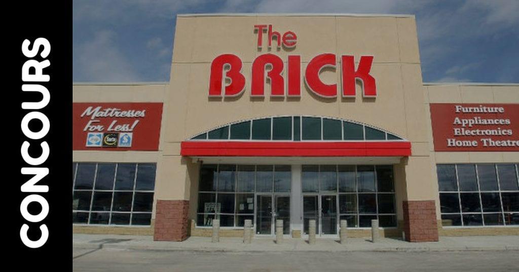 Concours Brick Gagnez une carte-cadeau de 1000$