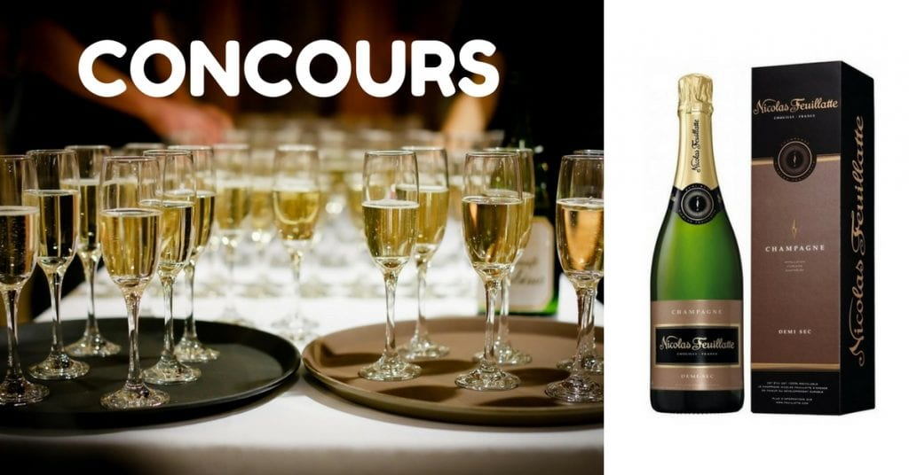 Image d'un concours 50 bouteilles de Champagne Nicolas Feuillatte