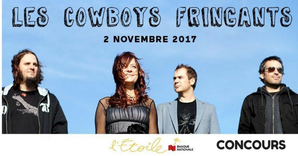 Concours ÉNERGIE 94.3 - Gagne tes billets pour Les Cowboys Fringants