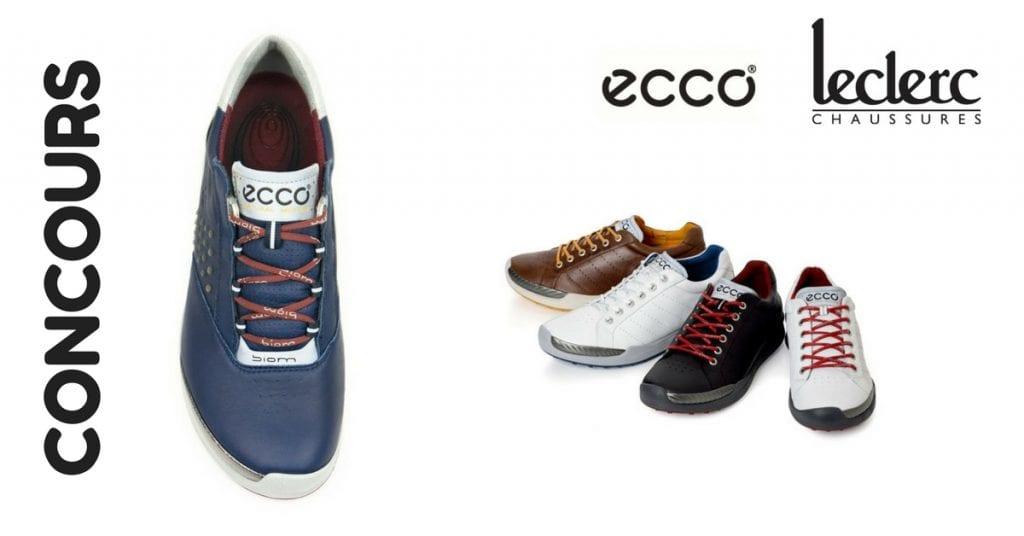 Image d'une paire de chaussure Ecco en concours